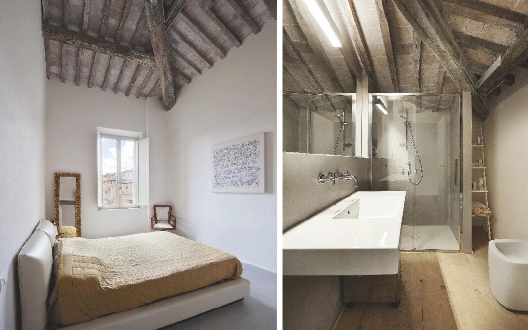 La ristrutturazione di un edificio dell'Ottocento dà forma a un appartamento a tutt'altezza